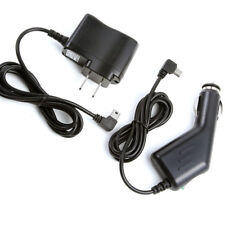 Car Auto Charger +AC/DC Wall Power Adapter For Bushnell GPS Neo+ #368050 #368150
