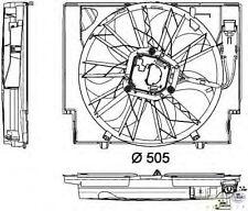 ElettroVentola BMW E60 Serie 5 2.0 / 3.0 Diesel +/- AC dal '01 al '10 Originale