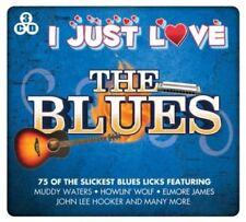 I Just Love the Blues 3CD B.B. King Ray Charles Muddy Waters John Lee Hooker NEW