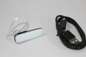 Plantronics Explorer 500 White Bluetooth Wireless Voice Headset Mite15 Genuine