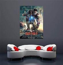 Film di Iron Man 3 NUOVO GIGANTE Wall Art Print PICTURE POSTER oz263