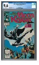 Marc Spector: Moon Knight #1 (1989) Key 1st Issue Marvel CGC 9.6 ZZ026