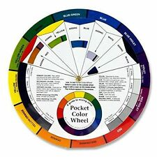 POCKET colore DISCO-PAINT miscelazione & Learning Guide-ARTE CLASSE / strumento didattico