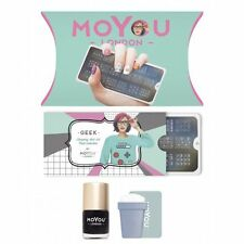 MoYou London Stamping Nail Art Geek Starter Kit