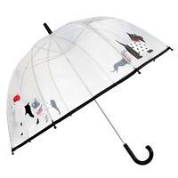 Drizzles Adults Unisex Dome Dog Umbrella (UM334)