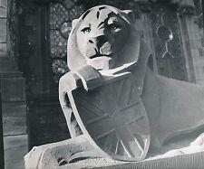 ÉCOSSE c. 1957 -  Sculpture Lion Entrée War Mémorial  Édimbourg - Div 10315