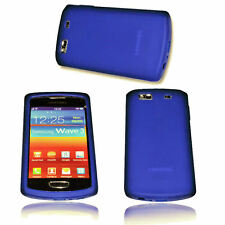 Silikon TPU Handy Cover Case Hülle Schale Kappe für Samsung S8600 Wave 3