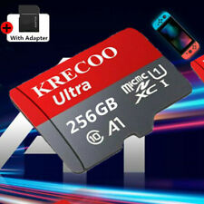 Micro Memory Card 256GB Flash TF Card for Phone&Car&Cameras&PC with Adapter NEW