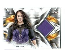 WWE Nia Jax 2019 Topps Undisputed Authentic Shirt Relic Card SN 46 of 99