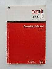 CASE/IH 1594 TRACTOR OPERATORS MANUAL