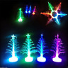 Christmas Changing Color Small Night Light LED Tree Lamp Home Party Decoration