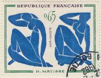 FRANCE - 1961 - Yv.1320 0fr65 H. Matisse - Oblitéré TB (a)