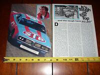 RICHARD PETTY #43 DODGE NASCAR - ORIGINAL 1977 ARTICLE