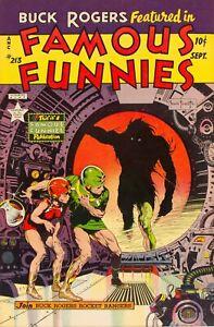 Famous Funnies #213 Photocopy REPLICA Comic Book, Frazetta Cover
