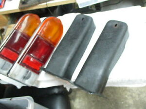 73-80 Triumph Spitfire 1500 Driver Passenger Taillamp Tail Lamp Light Set Pair
