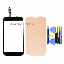 Touch Screen Digitizer Glass Parts For LG Google Nexus 4 E960 Black TAPE+TOOLS