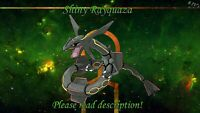 Shiny Rayquaza 6IV - Pokemon X/Y OR/AS S/M US/UM Sword/Shield