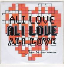 (EV492) Ali Love, Secret Sunday Lover - DJ CD