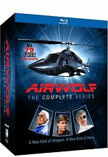 Airwolf - Complete TV Series Seasons 1 2 3 4 BluRay Boxed Set NEW!