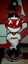 Cleveland Indians CHIEF WAHOO Bobblehead Baseball TRIBE Lindor Tradition Kluber
