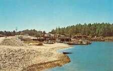 Nahcotta Washington Mooring Basin Willapa Bay Vintage Postcard K86392