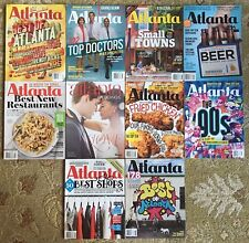 Lot of 10 ATLANTA MAGAZINE back issues 2011 2013 2014 2015 Atlanta Weddings