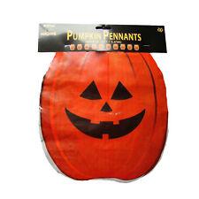 Halloween Orange Pumpkin Party Flag Banner Bunting Decoration 12ft