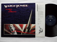 WATCHTOWER Control & Resistance GERMANY Orig LP+Inner NOISE N 0140-1  NEW-UNPL.!