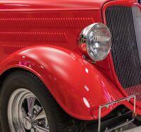 2x Ford Mustang Scheinwerfer Bj 64-78 MkI MkIII Umrüstscheinwerfer headlights