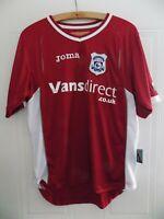 Cardiff City Away Football Joma Shirt 2008 2009 Soccer Jersey Mens Size Top Rare