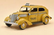 Antique Model Taxi/metal Model/old Style Reproduction Home/Office Decor Art Sale
