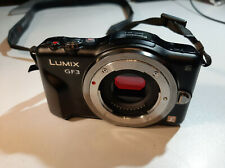 Panasonic LUMIX DMC-GF3 - Black (Body Only)