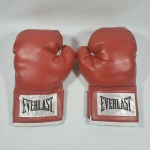 NEW Everlast RED BOXING Advanced Training Gloves Classic SIZE 14OZ WRIST WRAP