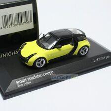 MINICHAMPS SMART ROADSTER COUPE SHINE YELLOW 400032120