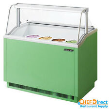Turbo Air TIDC-47G-N Green Ice Cream Dipping Cabinet