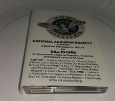 NATIONAL AUDUBON SOCIETY Bill Oliver Musical Adventure cassette Environmental cs