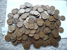 lot of 350 wheats from the 50's good to very fine