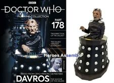 DOCTOR WHO FIGURINE COLLECTION #178 DAVROS EAGLEMOSS NEW (176 177)