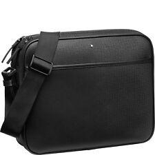 Messenger Bag con doppia Cerniera Montblanc Extreme Borsa Uomo 116767 Nera