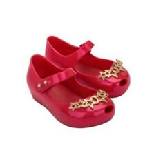 Mini Melissa Star Girls Princess Jelly Sandals Toddler Kid Baby Shoes USA 6-11