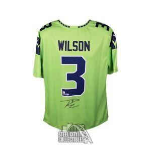 Seattle Seahawks Russell Wilson NFL Original Autographed Jerseys ...
