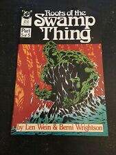 Roots Of The Swamp Thing#5 Awesome Condition 8.0(1986) Wrightson Art!!