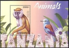 Tanzanian Wild Animal Postal Stamps