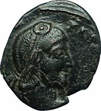 CONSTANTIUS II 355AD Cyzicus Authentic Ancient Roman Coin w BATTLE SCENE i66364