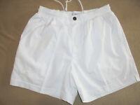 italy vintage Australian L`ALPINA Tennis Shorts weiß oldschool sport pants 52 M