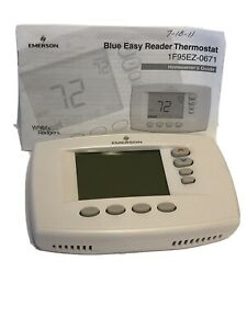 Emerson Blue Easy Reader Universal 7 Day Programmable Thermostat 1F95EZ-0671 A10