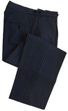 "Poly-Wool Morning Stripe Trousers Waist 42"" Leg 30"""