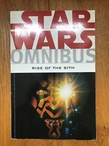 Star Wars Omnibus - Rise Of The Sith - Dark Horse Books