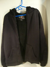 Boss Club Collection Hoodie Hooded Thick Jacket / Sweater Black L Large Mens