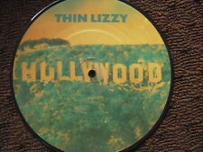 """THIN LIZZY """"HOLLYWOOD"""" / """"THE PRESSURE WILL BLOW"""" 7"""" 45 U.K IMPORT PICTURE DISC"""
